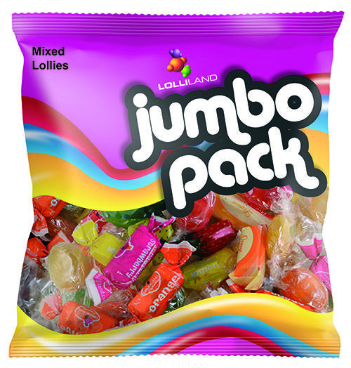 Lolliland Jumbo Pack Wrapped Lollies 700g