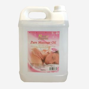 Pure Massage Oil 5L Website