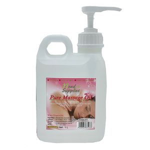 Pure Massage Oil 1Litre with pump website 3